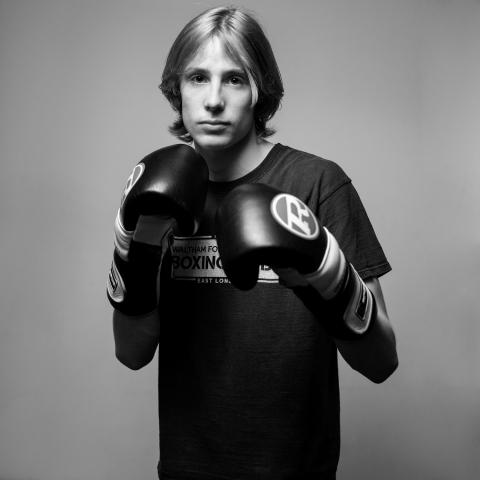 Ben Taylor Boxer Peter Miranda Photographer