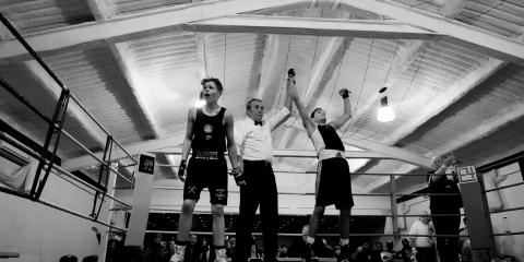 Boxing loss Peter Miranda Photographer